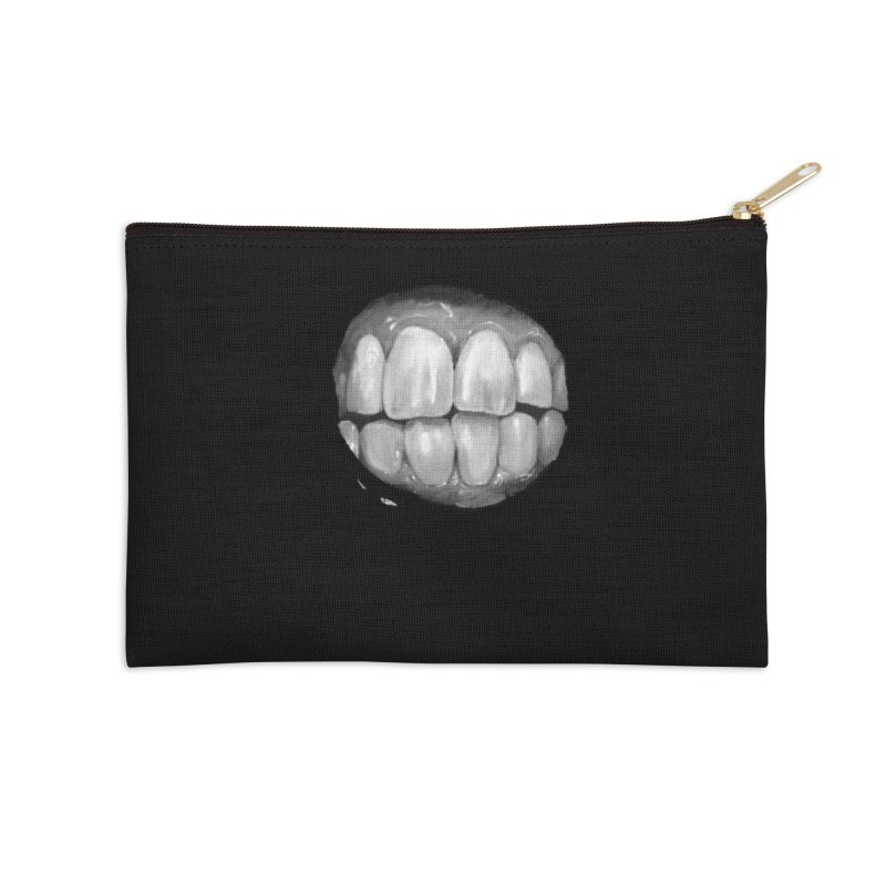 Cheese again Accessories Zip Pouch by fake smile