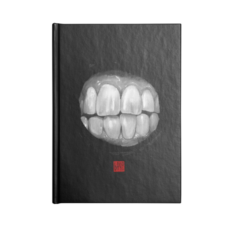 Teeth Accessories Blank Journal Notebook by fake smile
