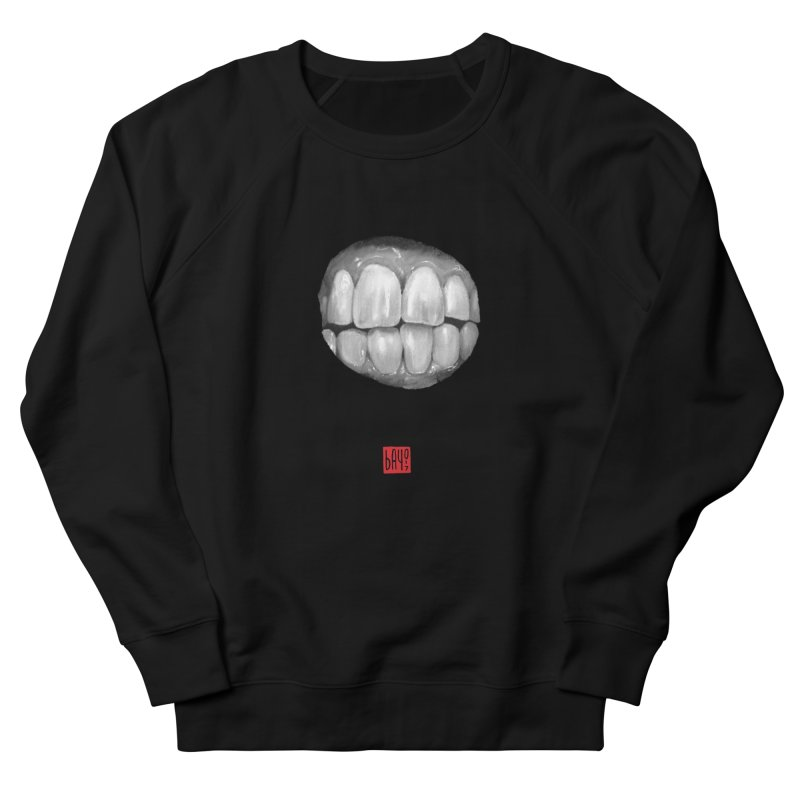 Teeth Men's Sweatshirt by fake smile