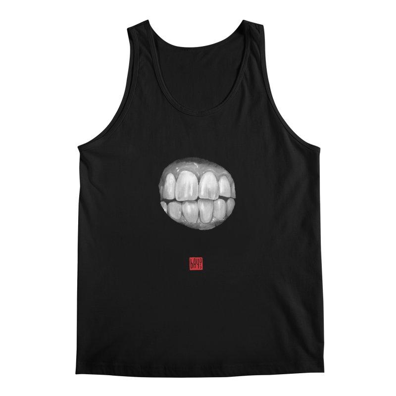 Teeth Men's Tank by fake smile