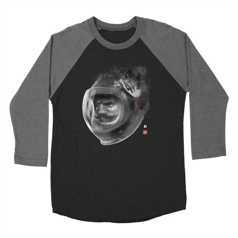 The Astronaut Men's Baseball Triblend T-Shirt by fake smile