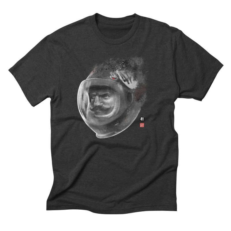 The Astronaut Men's Triblend T-shirt by fake smile