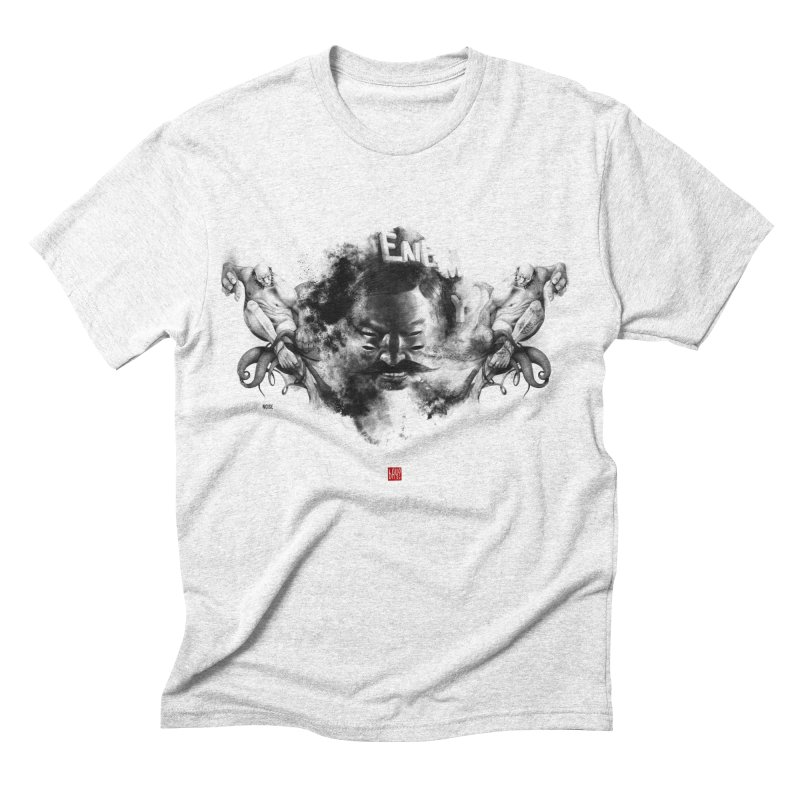 Stain Men's Triblend T-shirt by fake smile