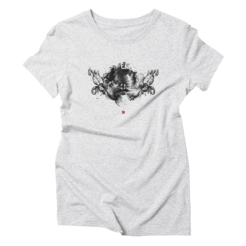 Stain Women's Triblend T-Shirt by fake smile