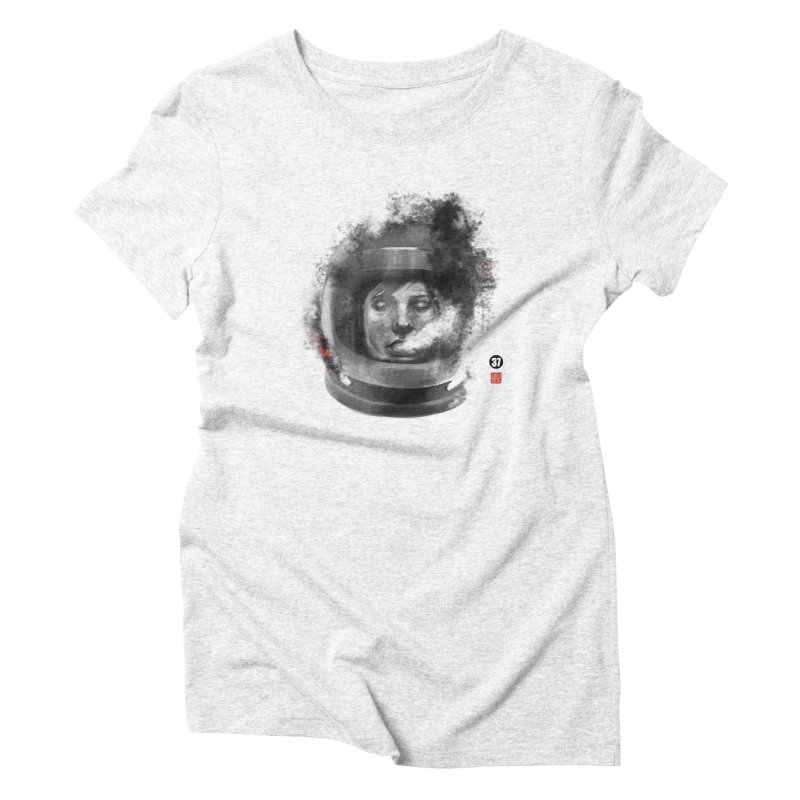 Astronaut no. 2 Women's Triblend T-shirt by fake smile