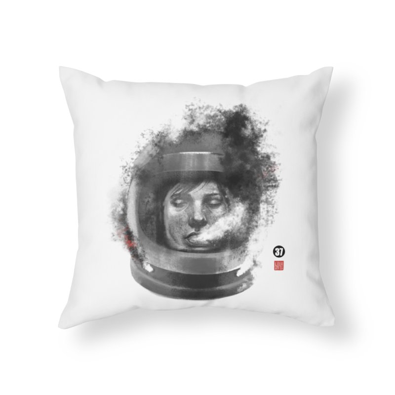 Astronaut no. 2 Home Throw Pillow by fake smile