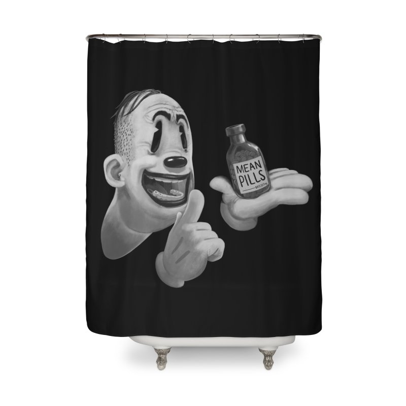Mean Pills Home Shower Curtain by fake smile