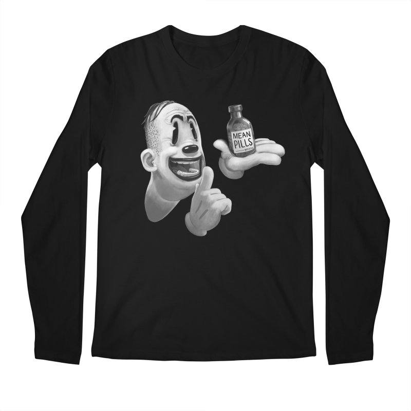 Mean Pills Men's Regular Longsleeve T-Shirt by fake smile