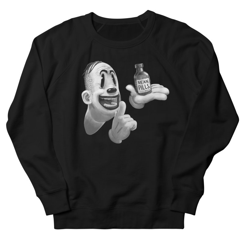Mean Pills Men's Sweatshirt by fake smile