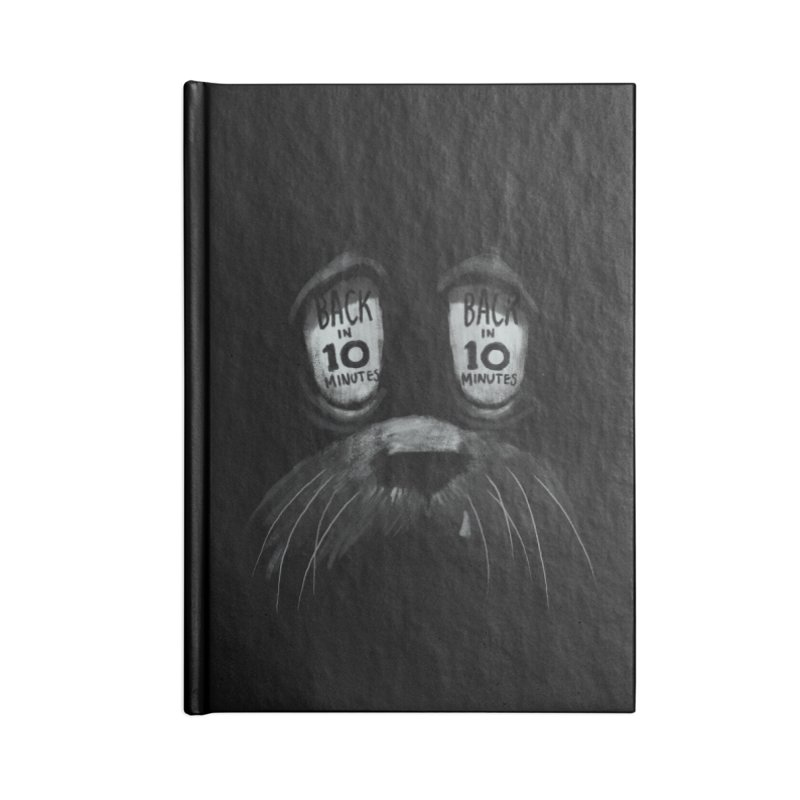 Back in 10 Accessories Blank Journal Notebook by fake smile
