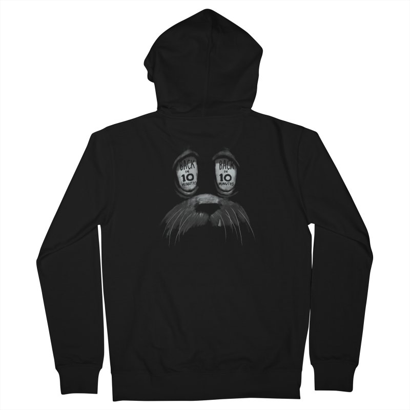 Back in 10 Women's Zip-Up Hoody by fake smile