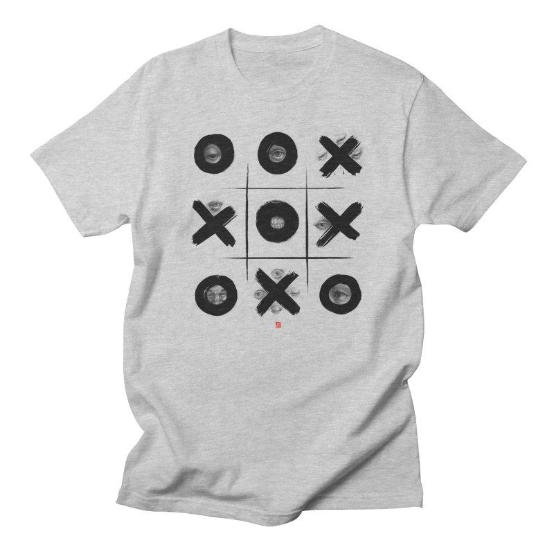Tic Tac Toe Men's T-Shirt by fake smile