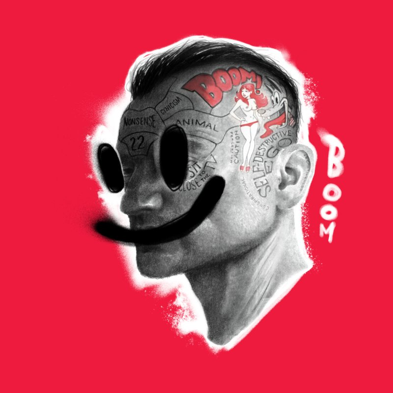 Boom V2 Men's T-Shirt by fake smile