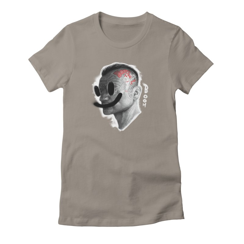 Boom V2 Women's Fitted T-Shirt by fake smile