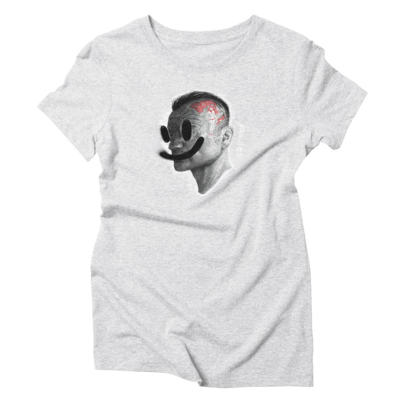 Boom V2 Women's Triblend T-Shirt by fake smile
