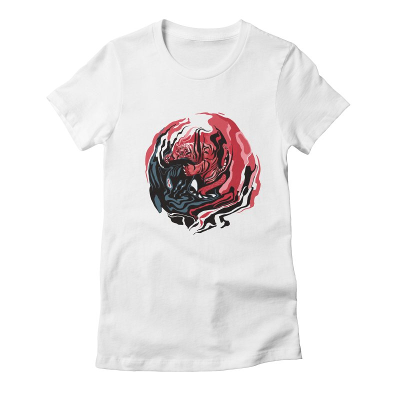 VS Women's Fitted T-Shirt by fake smile