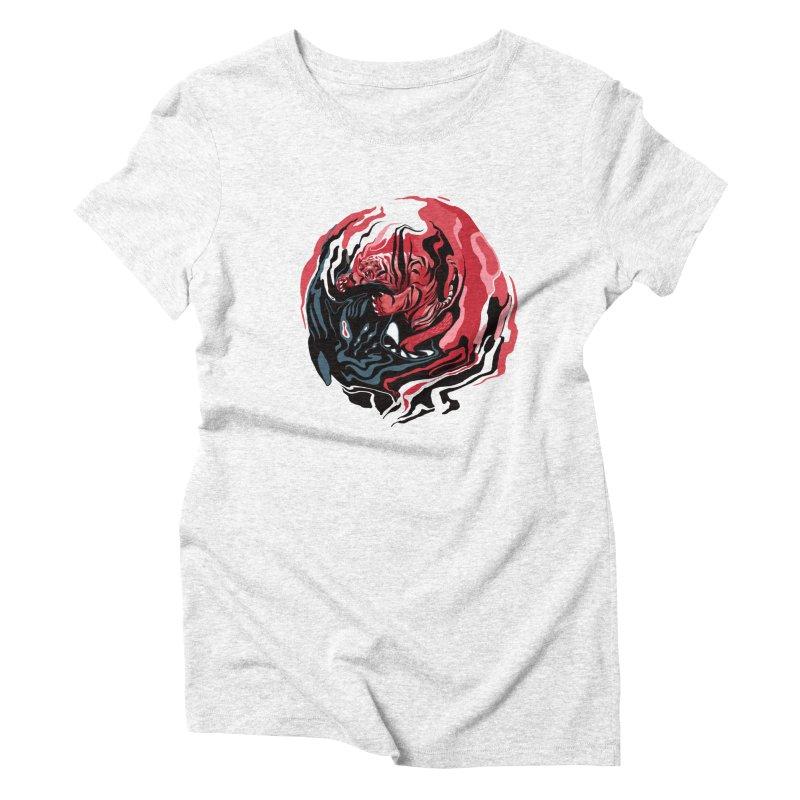 VS Women's Triblend T-shirt by fake smile