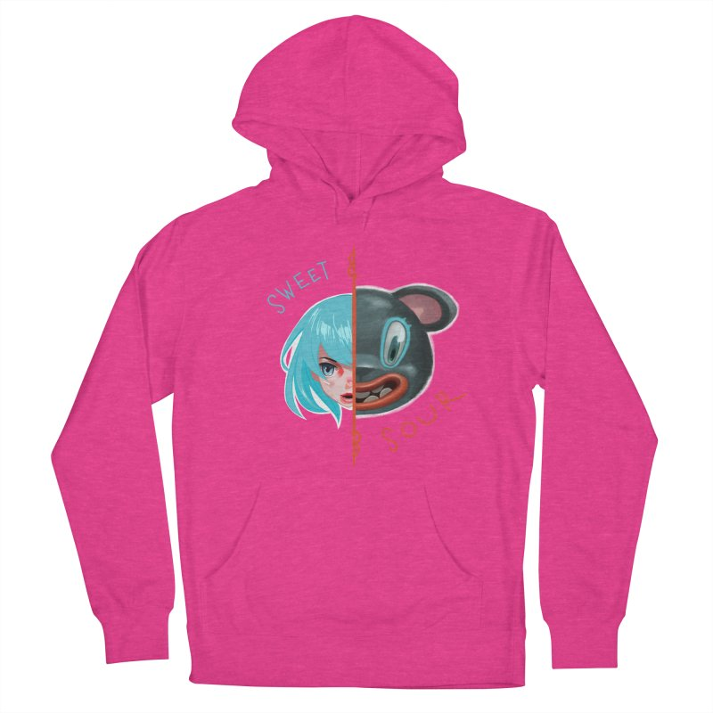 Sweet & sour Women's Pullover Hoody by fake smile