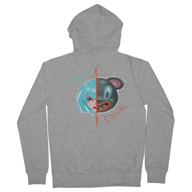 Sweet & sour Women's Zip-Up Hoody by fake smile
