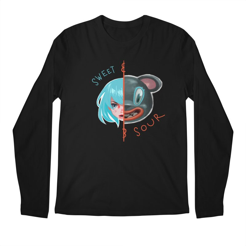 Sweet & sour Men's Longsleeve T-Shirt by fake smile
