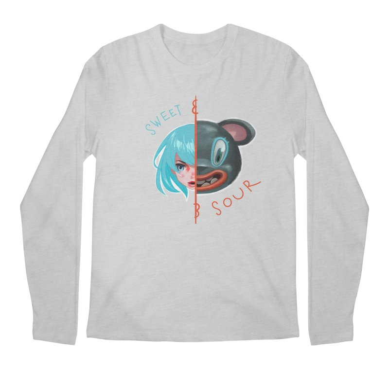 Sweet & sour Men's Regular Longsleeve T-Shirt by fake smile