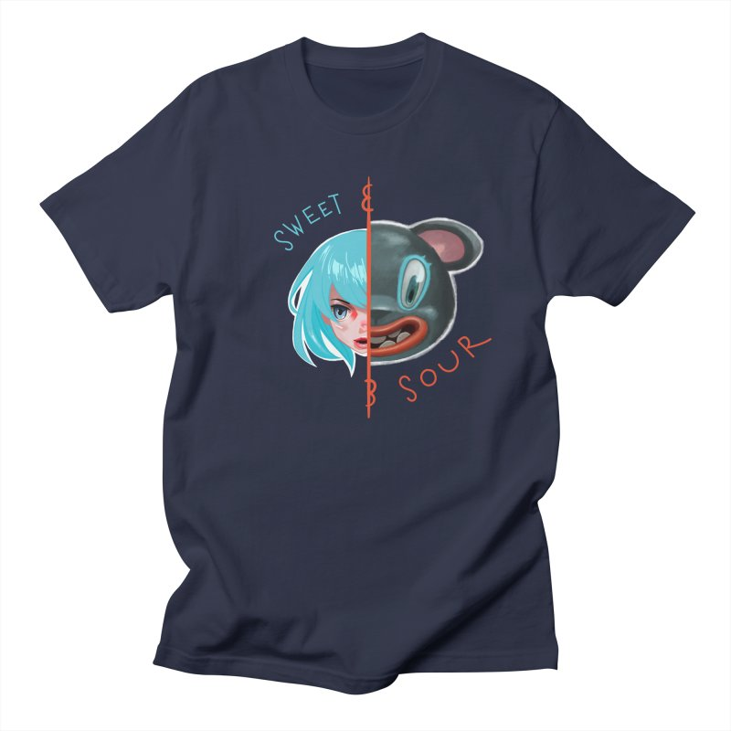 Sweet & sour Men's T-Shirt by fake smile