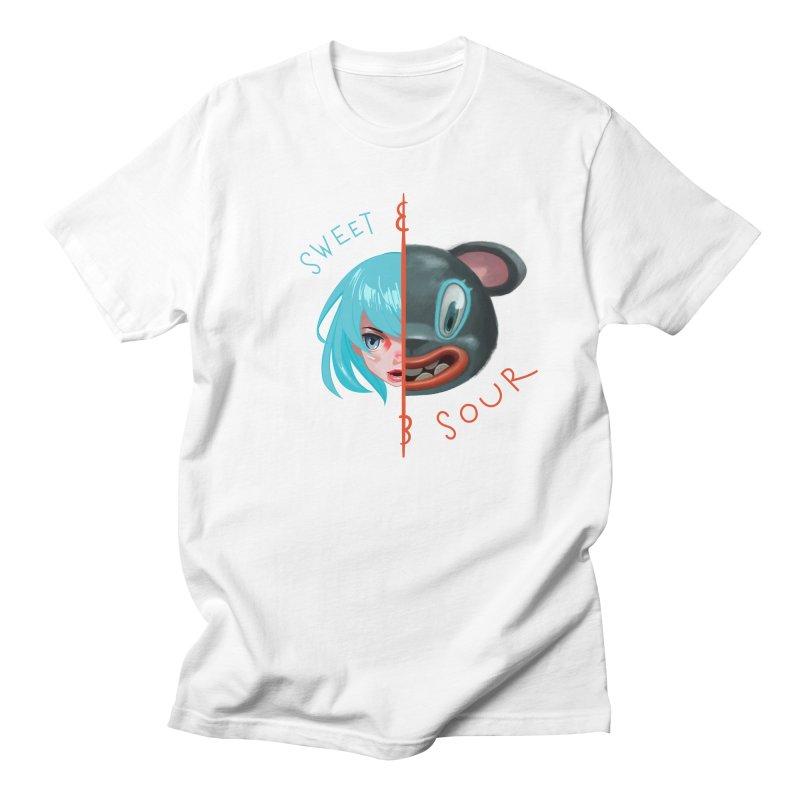 Sweet & sour Women's Regular Unisex T-Shirt by fake smile