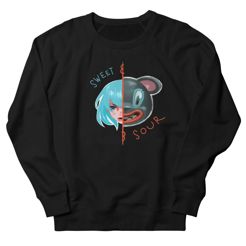 Sweet & sour Men's French Terry Sweatshirt by fake smile