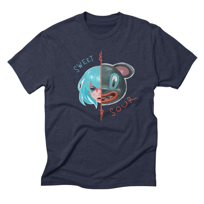Sweet & sour Men's Triblend T-shirt by fake smile