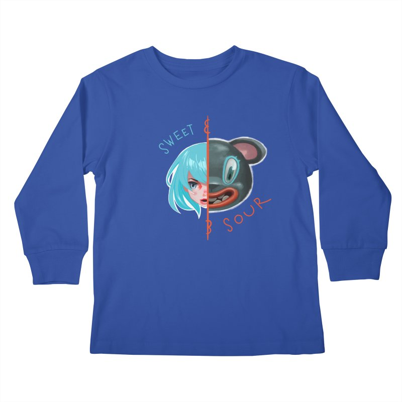 Sweet & sour Kids Longsleeve T-Shirt by fake smile