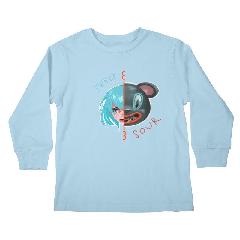 Sweet & sour Kids Longsleeve T-Shirt by fake smile