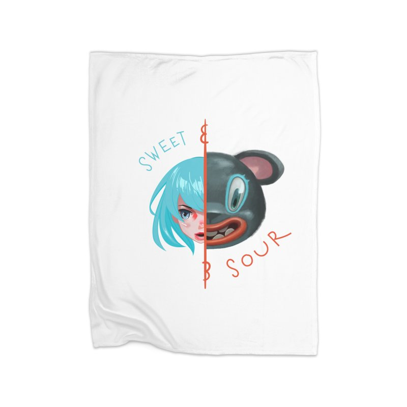 Sweet & sour Home Blanket by fake smile