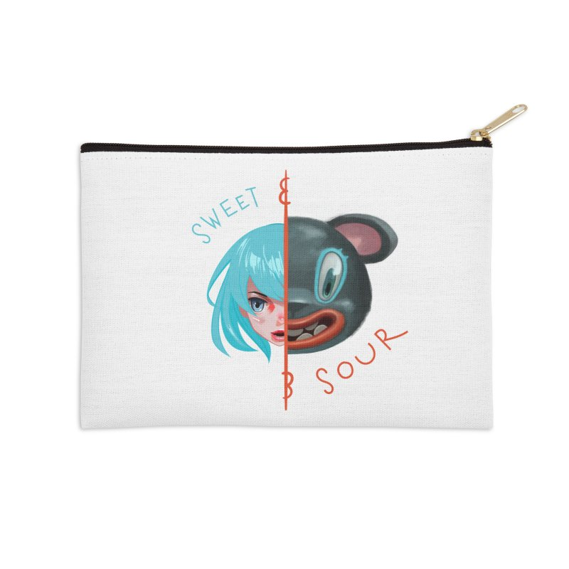 Sweet & sour Accessories Zip Pouch by fake smile