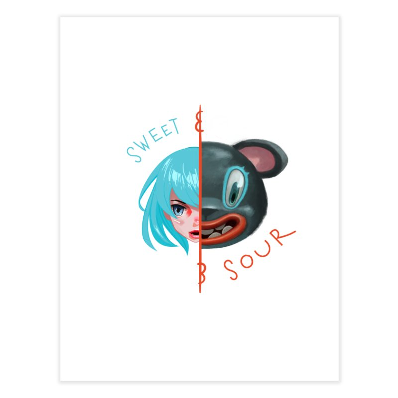 Sweet & sour Home Fine Art Print by fake smile