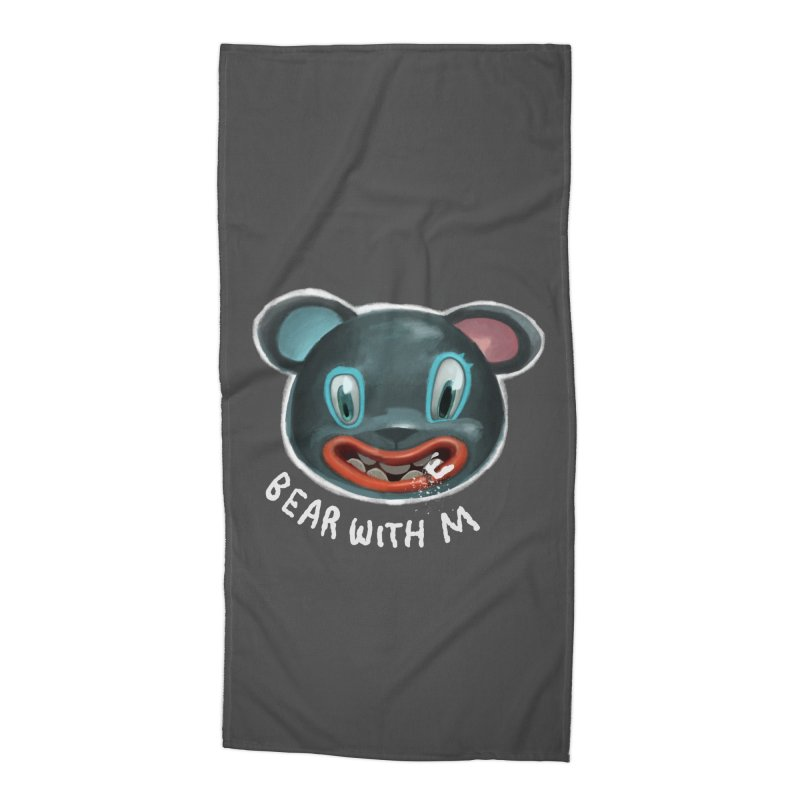 Bear with m Accessories Beach Towel by fake smile