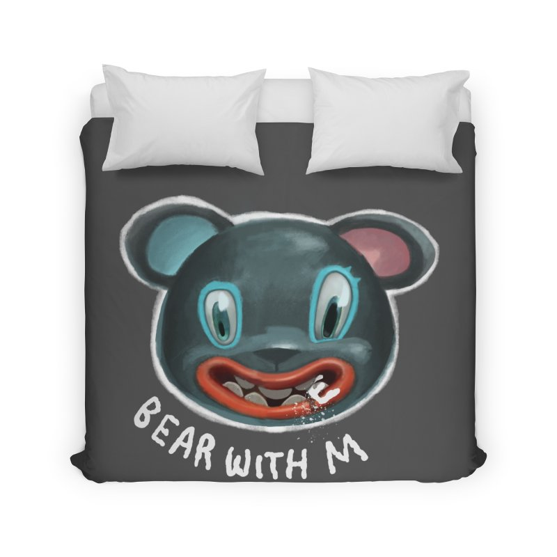 Bear with m Home Duvet by fake smile
