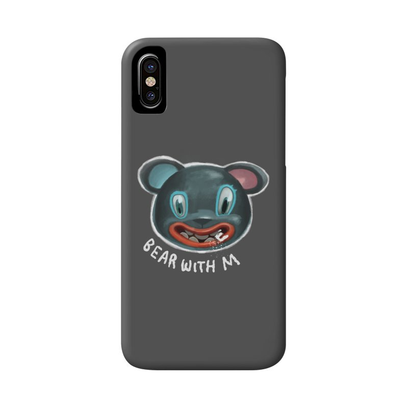 Bear with m Accessories Phone Case by fake smile