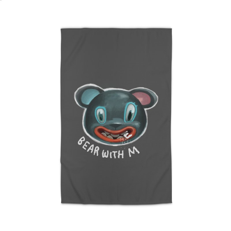 Bear with m Home Rug by fake smile
