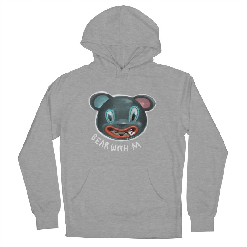 Bear with m Women's Pullover Hoody by fake smile