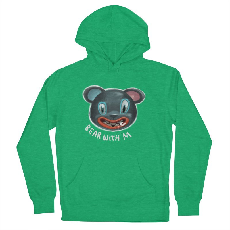 Bear with m Men's Pullover Hoody by fake smile