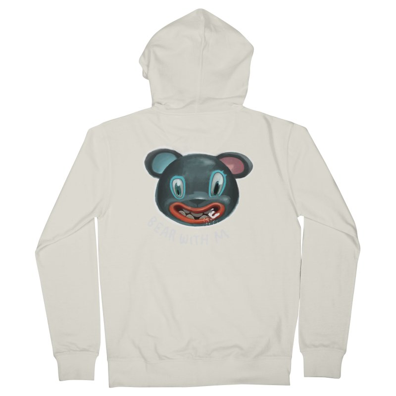 Bear with m Women's Zip-Up Hoody by fake smile