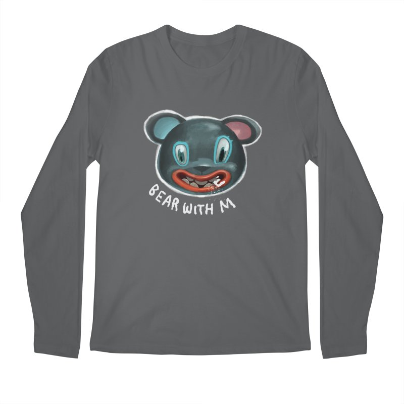 Bear with m Men's Longsleeve T-Shirt by fake smile