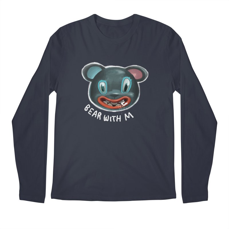 Bear with m Men's Regular Longsleeve T-Shirt by fake smile