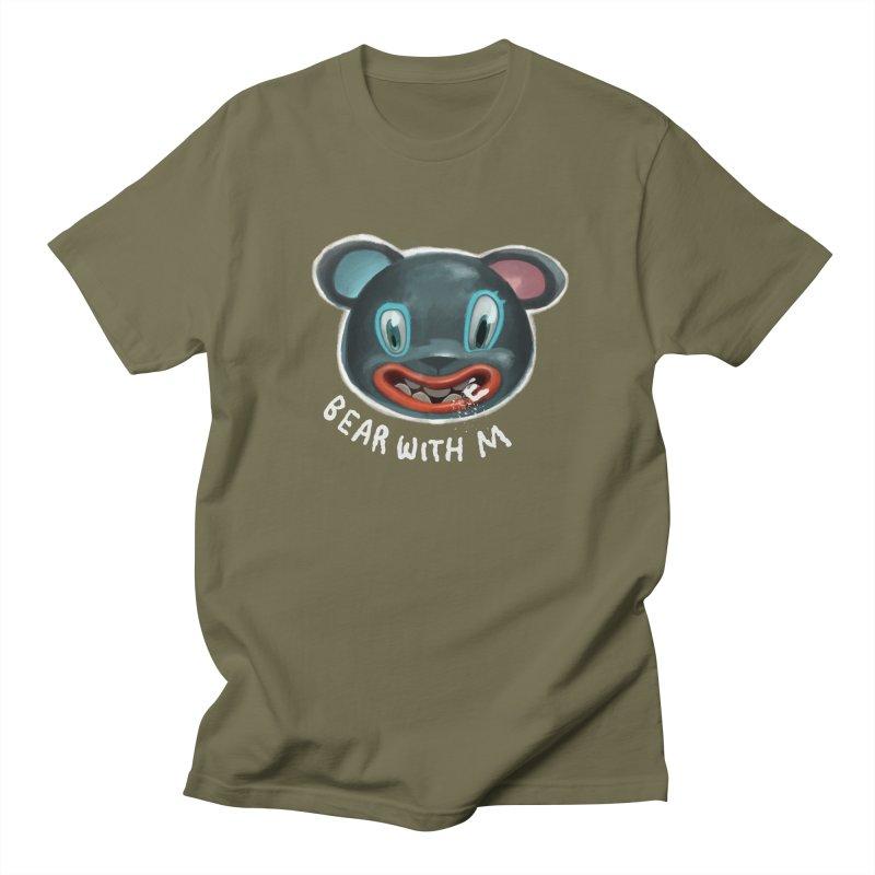 Bear with m Men's Regular T-Shirt by fake smile