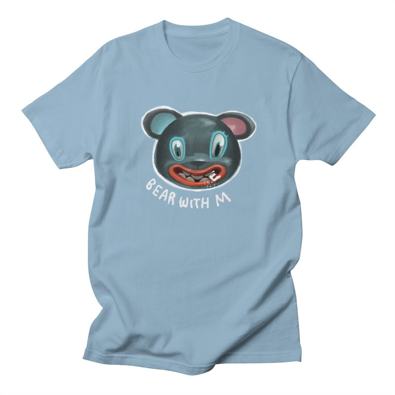 Bear with m Women's Regular Unisex T-Shirt by fake smile