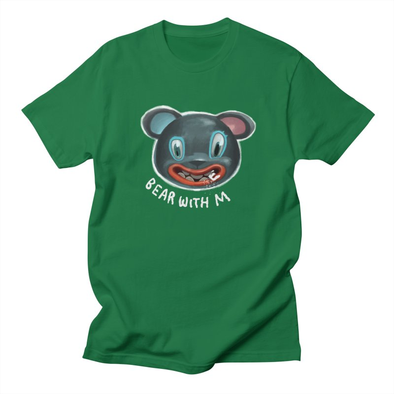 Bear with m Men's Regular T-Shirt by fake smile