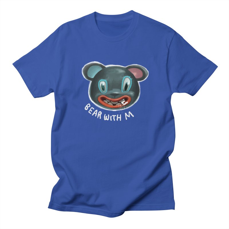 Bear with m Women's Unisex T-Shirt by fake smile