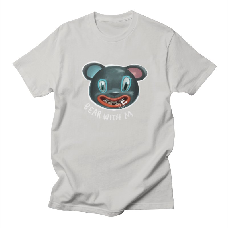 Bear with m Men's T-shirt by fake smile