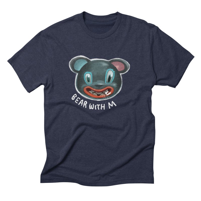 Bear with m Men's Triblend T-Shirt by fake smile