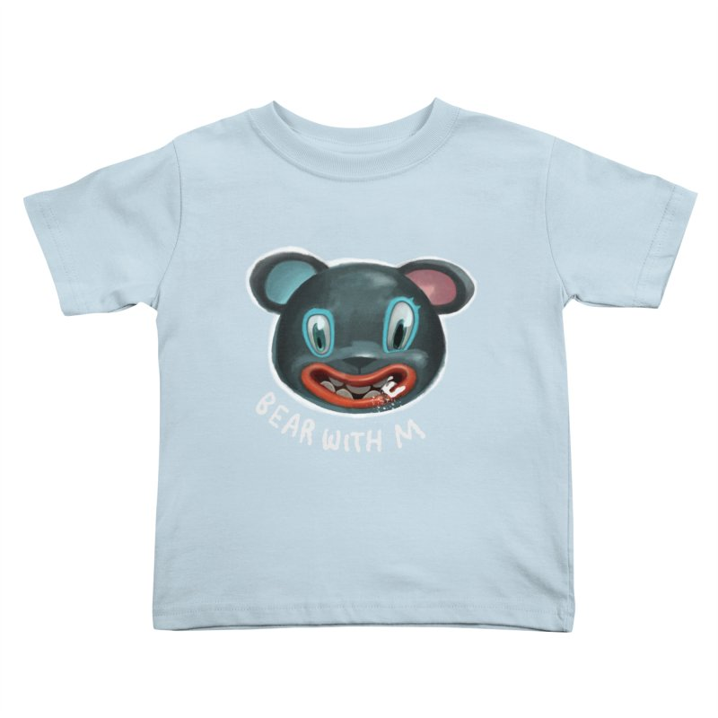 Bear with m Kids Toddler T-Shirt by fake smile